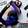 แว่นวิบาก (Goggle) Real Rock สีดำด้าน