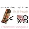 (ซื้อ3 ราคาพิเศษ) Mei linda Miracle Color Fit Lip Liner #08 Peach เมลินดา ดินสอเขียนขอบปาก 1.5 กรัม
