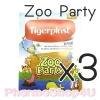 (ซื้อ3 ราคาพิเศษ) TIGERPLAST ZOO PARTY PLASTER 8 ชิ้น ไทเกอร์ พลาส ลายสัตว์ป่าน่ารัก ปิดแผล ได้ทั้งเด็ก และผู้ใหญ่