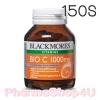 (150 เม็ด) Blackmores Bio C 1000mg วิตามินซีให้ผิวขาวกระจ่างใสได้เร็วขึ้นจากเดิมและเสริมสร้างภูมิคุ้มกันในร่างกาย