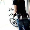 กระเป๋าคาดเอว TAICHI RSB267 สีขาว-แดง