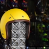 หมวกกันน็อคคลาสสิก 5เป๊กLB+ สีเหลืองด้าน