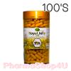 Nature King Royal Jelly 1000 mg กระปุก 100 เม็ด เนเจอร์ คิง นมผึ้ง 1000 มก บำรุงร่างกาย บำรุงผิว ปรับสมดุล ช่วยให้ร่างกายสดชื่น
