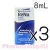 (ซื้อ3 ราคาพิเศษ) RENU MULTIPLUS LUBRICATING 8ML น้ำตาเทียมสำหรับคนใส่คอนแทคเลนส์ ไม่ทำให้ระคายเคือง ช่วยให้ความชุ่มชื้น