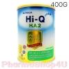 Dumex Hi-Q H.A 2 ไฮคิว เอช เอ 2 พรีไบโอโพรเทก 400 กรัม นมผงสูตรสำหรับ 6เดือน-3ปี ที่มีความเสี่ยงต่อภูมิแพ้ และแพ้โปรตีนนมวัว