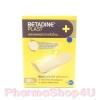 Betadine Plast ผ้าพรีเมี่ยม ขนาด 19x72 mm 20 ชิ้น พลาสเตอร์ ผ้าพรีเมี่ยม เนื้อผ้ายืดหยุ่น กลมกลืนสีผิว ติดแน่น ปกป้องได้ดี ไม่ทิ้งคราบกาว อ่อนโยนต่อผิว