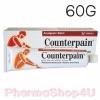 Counterpain สูตรร้อน analgesic balm 60G เคาเตอร์เพนสูตรร้อน คลายปวด คลายกล้ามเนื้อ ทาถูนวด