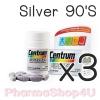 (ซื้อ3 ราคาพิเศษ) Centrum Silver 50+ From A To Zinc 90 Tablets วิตามินและเกลือแร่รวม 23 ชนิดที่จำเป็นต่อร่างกาย พร้อมเบตาแคโรทีน ลูปีน และไลโคปีน