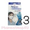 (ซื้อ3 ราคาพิเศษ) Nexcare Pollution & Haxze Respirator 1ชิ้น หน้ากากอนามัย รุ่น KN95 กระชับกับใบหน้า สวมใส่ง่ายด้วยสายคล้องหู หน้ากากพับได้