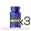 ***หมด*** (ซื้อ3 ราคาพิเศษ) Puritan Melatonin 3mg 120เม็ด เมลาโทนิน ช่วยให้นอนหลับได้ง่ายขึ้น หลับสนิทมากขึ้น ปรับเวลาการนอน