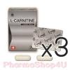(ซื้อ3 ราคาพิเศษ) L-CARNITINE Pharmahof 500mg 30 เม็ด แอล-คาร์นิทีน เร่งเผาผลาญ ลดน้ำหนัก เสริมสร้างกล้ามเนื้อ