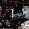 หมวกกันน็อคคลาสสิกCrg-Atv4 สีดำเงา