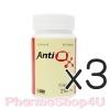 (ซื้อ3 ราคาพิเศษ) GPO Antiox แอนติออกซ์ 60เม็ด สารสกัดขมิ้นชันเข้มข้น ให้เคอร์คูมินอยด์ 250มก. บำรุงร่างกาย