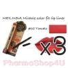 (ซื้อ3 ราคาพิเศษ) Mei linda Miracle Color Fit Lip Liner #05 Tomato เมลินดา ดินสอเขียนขอบปาก 1.5 กรัม