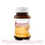 Vistra B-Complex Plus Ginseng 30 เม็ด วิสตร้า วิตามินบีรวมผสมโสม ฟื้นฟูพลังงาน ป้องกันสมองอ่อนเพลีย