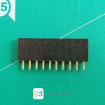 1x10 pin Female Header