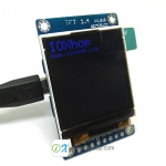 TFT 1.4 inch Shield V1.0.0 for WeMos D1 mini