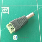 5.5x2.1mm DC Power Male Connector