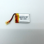 LiPo Battery 60mAh with Protection Size 25x16x3mm