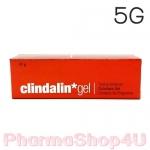 Clindalin Gel คลินดาลิน เจล 5 กรัม เจลแต้มสิวหลอดสีแดง ที่ช่วยรักษา สิวอุดตัน หัวสิวยุบเร็ว
