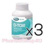 (ซื้อ3 ราคาพิเศษ) MEGA We Care D-Toxi 30เม็ด บำรุงและฟื้นฟูเซลล์ตับ เหมาะกับคนที่ทานยาเยอะ กินเหล้าแยะ
