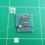 Motor Shield For WeMos D1 mini I2C Dual Motor Driver TB6612FNG (1A) V1.0.0