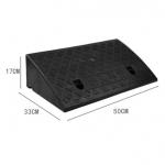 ทางลาดพลาสติกสำเร็จรูป สูง17 cm/ ลึก 27cm / กว้าง 50cm รับน้ำหนักรถยนต์ได้