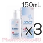 (ซื้อ3 ราคาพิเศษ) (หัวปั๊ม) Ezerra Extra Gentle Cleanser 150mL สบู่เหลวล้างหน้าอาบน้ำ สำหรับผิวแพ้ง่าย ผิวติดสเตียรอยด์ ผิวเด็ก คุณหมอผิวหนังแนะนำให้ใช้
