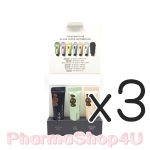 (ซื้อ3 ราคาพิเศษ) Innisfree Help My Skin Kit 10ml Jeju Volcanic Color Clay Mask สีชมพู สีเขียว สีดำ