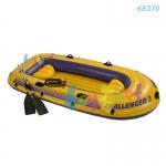 Intex Challenger 3 Boat Set w/Alum. Oars & Air Pump no 68370