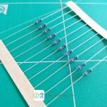 Resistor 10KE 1/4W 1% x50