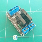 2 Channel 5V 2A SSR G3MB-202P Solid State Relay Module