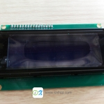 LCD Character Display 20x4 (Blue) with I2C Serial interface Board