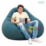 Intex Deluxe Beanless Bag Chair - Classic Teal no 68583