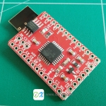 Nrf24Duino Arduino Mini Plus Nrf24l01 Board