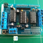 Stepper DC Motor Drivers Shield L293D Expansion Development Board for Arduino