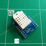 DHT Pro Shield for WeMos D1 mini DHT22 Single-bus digital temperature and humidity sensor