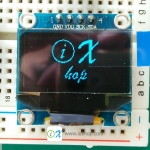 "128X64 0.96"" OLED Display Module (Blue)"