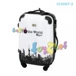 Fantastico Night & Day Suitcase 20in (51cm) - White no.9100WT-S
