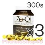 (ซื้อ3 ราคาพิเศษ) Ze-Oil 300เม็ด ซีออยล์ น้ำมันสกัดเย็น 4ชนิด น้ำมันมะพร้าว น้ำมันกระเทียม น้ำมันรำข้าว น้ำมันงาขี้ม้อน ดูแลทุกระบบภายในร่างกาย