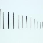 ชุดดอกสว่านอย่างดี 12 ดอก High Quality Drill Head Set 0.3mm-2.5mm 12 Units