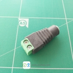 5.5x2.1mm DC Power Female Plug Connector