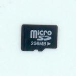 MicroSD 256MB
