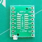 PCB Adapter SOP16 SSOP16 TSSOP16 to DIP16