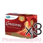 (ซื้อ3 ราคาพิเศษ) MEGA We Care Ginsomin 30เม็ด จินโซมิน โสมสกัด ช่วยบำรุงร่างกาย ให้ร่างกายไม่อ่อนเพลีย หลับง่าย