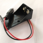 9V Box DC Plug Socket Battery Holder For Arduino