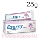 Ezerra Cream 25g ครีมสำหรับผิวแพ้ง่ายในเด็ก ผิวติดสเตียรอยด์ ผู้ที่มีปัญหาผิวแห้ง มีผดผื่น