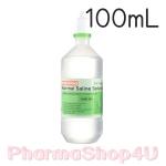 K&K NSS 0.9% Sodium Chloride น้ำเกลือบริสุทธิ์ 100mL ใช้สำหรับ ล้างตา ล้างแผล แช่คอนแทคเลนส์ ใช้เช็ดหน้ากำจัดสิว ล้างจมูก ป้องกันภูมิแพ้