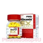 Alinamin EX Plus 60เม็ด อะลินามิน เอ็กซ์ พลัส สำหรับคนทำงาน เพิ่มประสิทธิภาพการทำงาน รับมือกับความอ่อนเพลีย อิดโรย และเมื่อยล้า