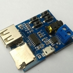 MP3 Format Decoder Board Module